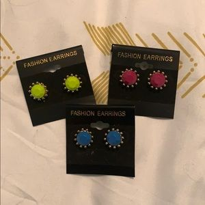 Earrings bundle 3 pairs! NWT